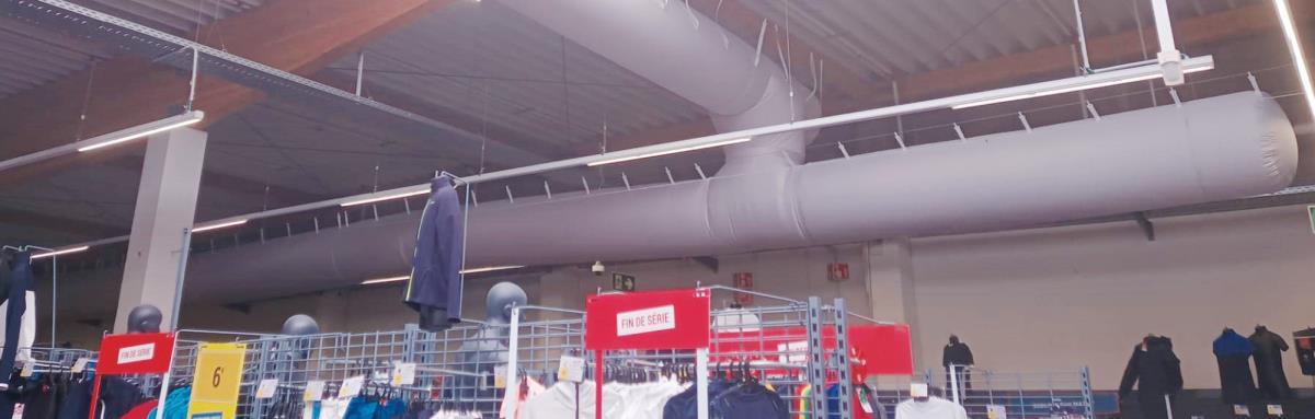 Prihoda HVAC - expert in fabric ducts - airsocks - loop3