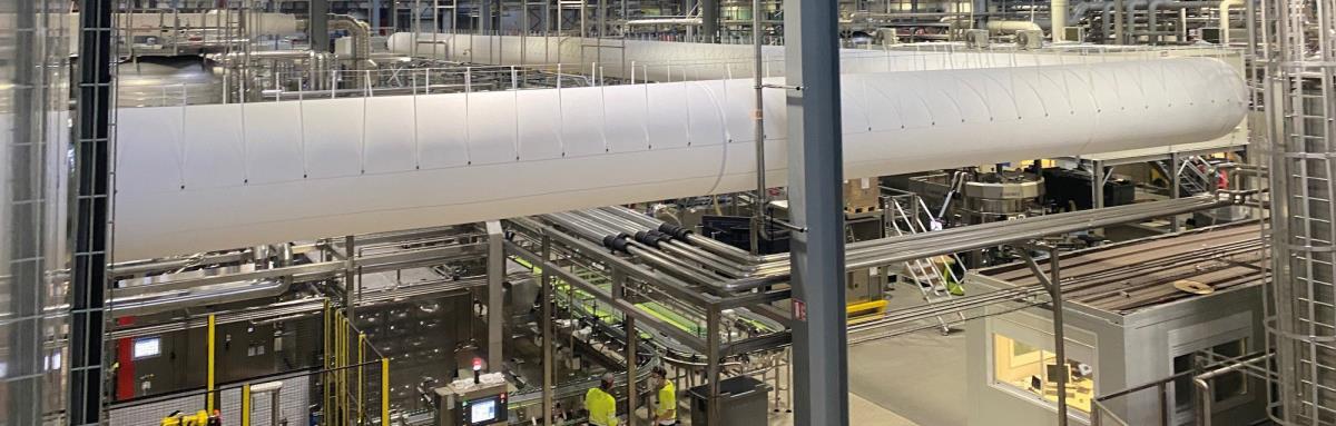 Prihoda HVAC - Prihoda Fabric Duct - Tailor made airsocks