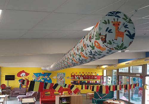 Prihoda Art luchtsok in kinderopvang